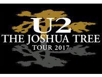U2 - Croke Park – 22nd July 2017 – Highly Sought PITCH 2 Standing