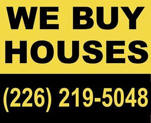 WE BUY HOUSES