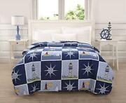 Lighthouse Comforter