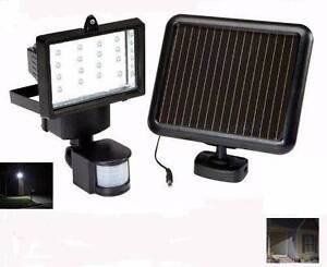 1150 Lumens Solar Sensor Security Flood Light 16 Ultra LEDs Athelstone Campbelltown Area Preview