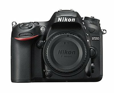 Nikon D7200 24.2MP DX-Format CMOS Sensor Digital SLR Body (Black) Brand New