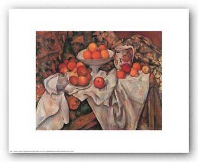 - Apples and Oranges Paul Cezanne Still Life Art Print Poster 14x11