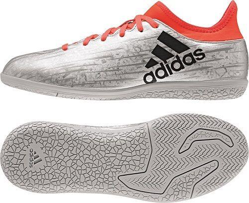 Adidas 16.3 IN Kinder Fußballschuhe Sockenschuh, Indoor, Hallenschuh, S79562