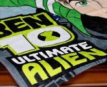 Ben 10 Ultimate Alien Beach Bath Towel Generous 75x150cm Size Camden South Camden Area Preview