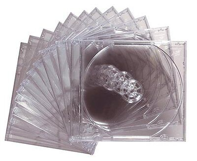 Maxell Cddvd Jewel Cases Cd-360 - Book Fold - Plastic - Clear - Cd Case Cd360