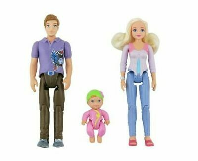 NEW ~ Fisher Price LOVING FAMILY Replacement Figures Lot ~ Mom, Dad, Baby
