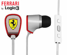 Ferrari Scuderia R100i Earphones-White- Noise Filtering Camden South Camden Area Preview