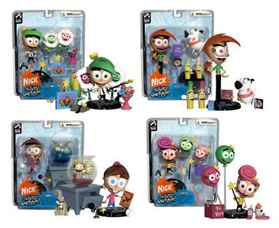 "Palisades Toys NICK TOONS FAIRLY ODD PARENTS 5"" TOY FIGURES - Pick of 4"
