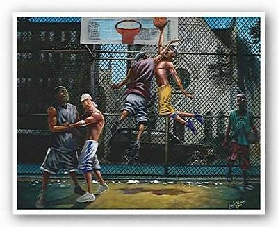 ART PRINT In Mid Air Lonnie Ollivierre (Air Art Print)