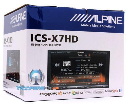 alpine touch screen vehicle electronics gps ebay