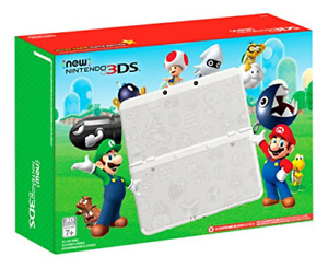 Modded Nintendo New Nintendo 3DS Super Mario White Edition