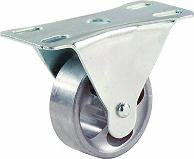 Shepherd Hardware 9184 2-12-inch Cast Iron Rigid Plate Caster 175-lb Load Capa