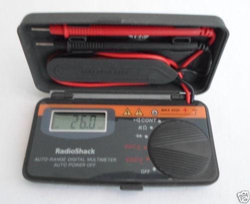 Radio Shack Multimeter : Radio shack meter ebay