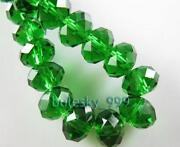 6mm Crystal Rondelle Beads