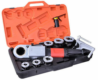 12-2 Handheld Power Threader Compatible To Rothenberger Use Ridgid 12r Dies.