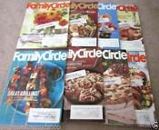 Family Circle Magazine Lot