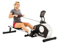 Rowing Machine FREE DELIVERY Hydraulic Gym Rower Cross Trainer Bike Cycling Weight Loss Fitness