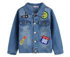 Denim Denim Jacket Blue Jackets & Coats for Girls