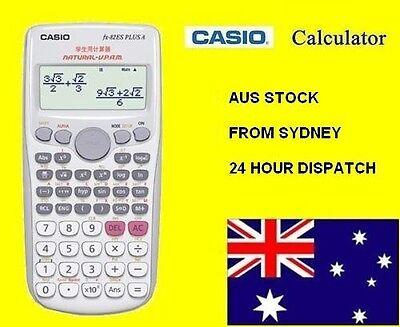 Original New CASIO fx-82ES PLUS A Scientific Calculator White AU Stock FREE POST