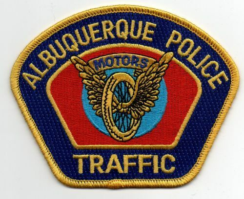 NEW MEXICO NM ALBUQUERQUE POLICE TRAFFIC NICE PATCH SHERIFF