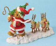 Cherished Teddies Santa