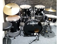 Sonor 503 5pc Drum Kit with upgrades