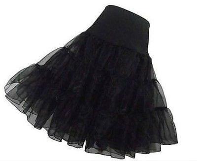 Petticoat Black (Plus Size Black Petticoat Crinoline Underskirt Bridal Wedding Dress Skirt)