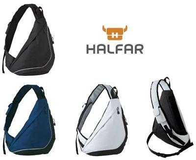 Dreiecksrucksack, Turnbeutel, Eingurt Bodybag, Citybag, Slingpack Z-Bag Crossbag (Sling-rucksack)