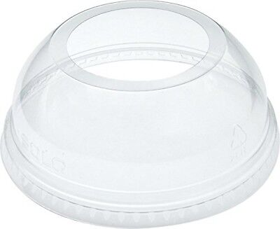 Dart DLW626 Clear Lid PET 626 Dome With Ex Lg Hole (Case of 1000) Dart Clear Dome
