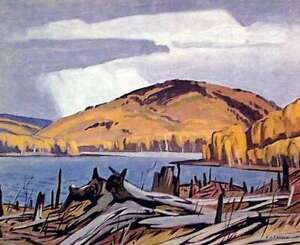 "A.J. Casson ""Madawaska River"" Lithograph - Appraised at $600"