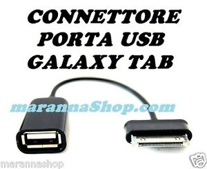 Cavo otg grg adattatore connettore porta usb samsung for Tablet samsung con porta usb