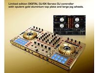 1 of 1000 Made - PIONEER DDJ SX N - RARE - Limited Edition - GOLD DJ Performance Controller