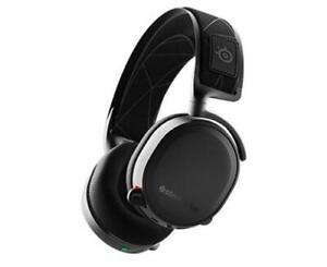SteelSeries Arctis 7 HS-00013 Wireless Gaming Headset with Microphone – Black (Open box)