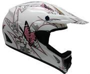 Pink Motocross Helmet