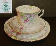 Crown Staffordshire Cup & Saucer