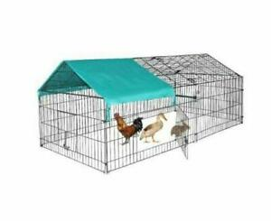 NEW 88 IN DOG KENNEL RABBIT CHICKEN CAGE COOP TURKEY WEREWOLF