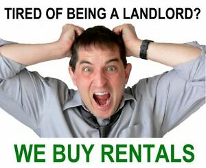 WE BUY RENTAL PROPERTIES