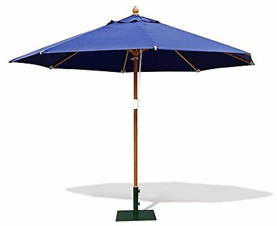 Octagonal Outdoor Parasol 3.5m- Garden Umbrella Shade - FSC hardwood - 5 colours