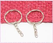 Schlüsselringe mit Kette