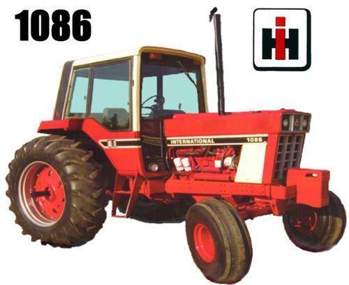 1086 Ih Parts : Ih tractor car interior design