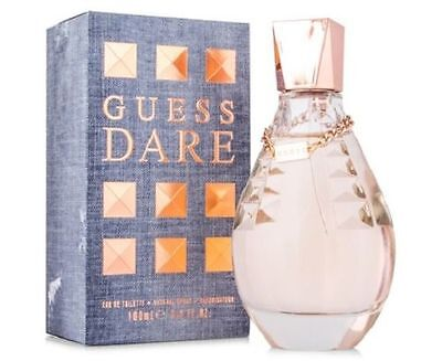 Guess Dare by Guess 3.4 oz EDT Perfume for Women New In Box
