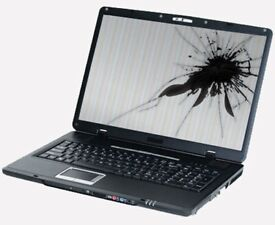 Cracked/Broken LCD Laptop Screen Repair. Fast Service, Cheap Prices SW20