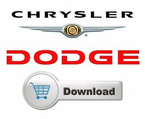 2001-2005 Dodge Caravan / Chrysler Town & Country / Voyager Factory Shop Manual