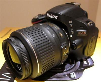 MINT Nikon D5100 16.2 MP Digital SLR Camera With 18-55mm VR Lens (2 LENSES)