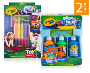 Crayola 3D Toy Story Sidewalk Activity & Paint Sets Pack Camden South Camden Area Preview