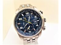 CITIZEN Eco Drive Radio Controlled World Time