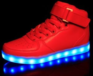 LED Light-up Sneakers Running Shoes Urban Glow in the Dark Nike