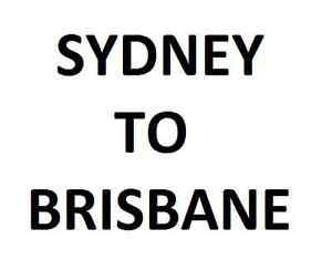 Sydney to Brisbane (Gold Coast) Sydney City Inner Sydney Preview