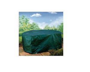 Housse ovale pour salon de jardin polyethylene 278 x 204 x for Ebay salon de jardin