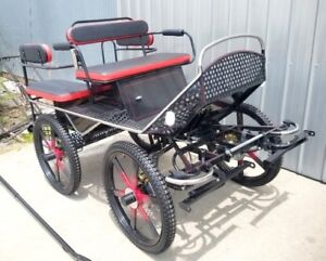 horse carriage/marathon training carriage for sale USA